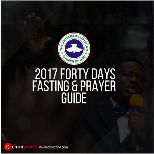 RCCG 2017 FORTY DAYS FASTING PRAYER POINTS [DAY 5]