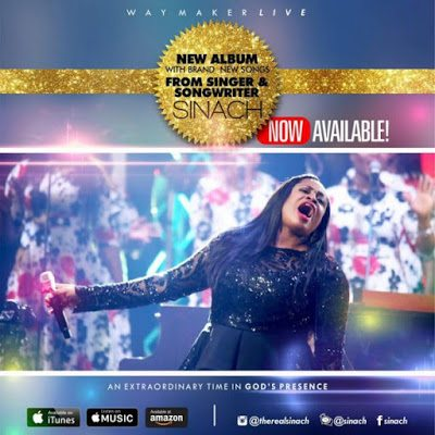 WATCH: Sinach – For Me [Lyrics + Mp3 Download]
