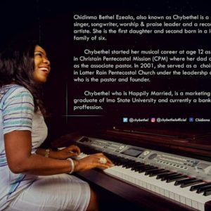 AUDIO: Chybethel – Ekwueme [Lyrics + Mp3 Download]