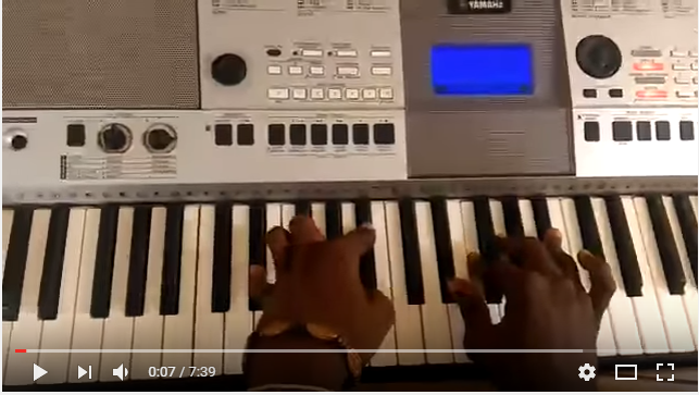 "PIANO: How to play ""I have no other God"" by Nathaniel Bassey"