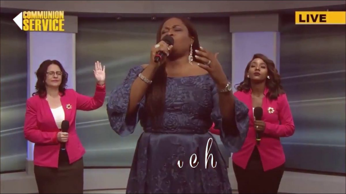 AUDIO: Sinach – (Majesty) I stand in Awe of You [Lyrics + Mp3 Download]