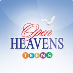 Seek to Understand – Open Heavens for Teens 30 March 2019