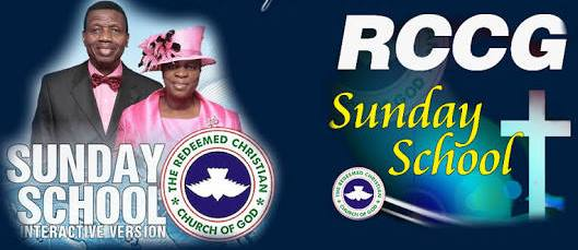 RCCG Sunday School STUDENT Manual 31 March 2019 – Lesson 31
