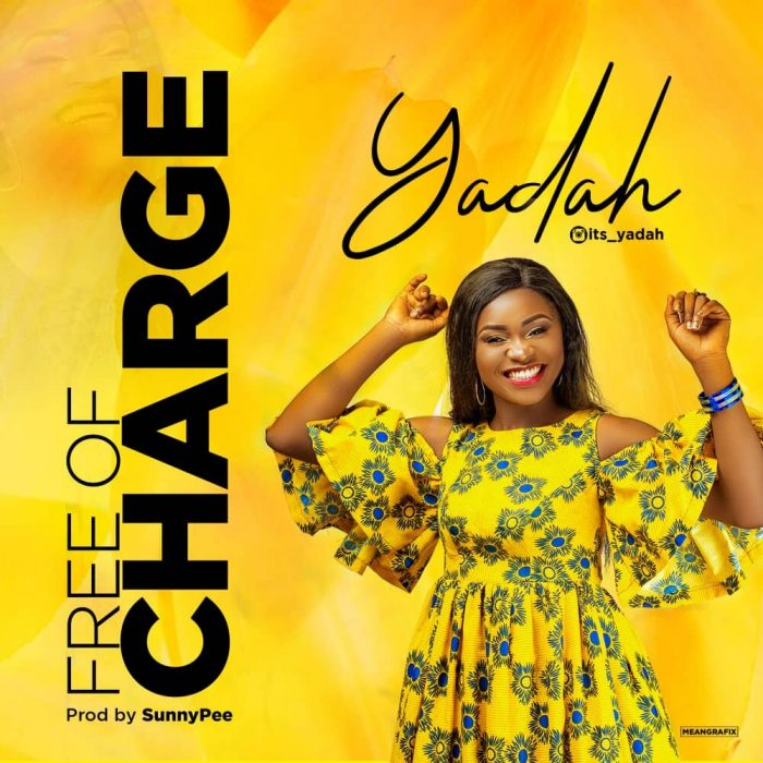 AUDIO: Yadah – Free of Charge [Lyrics + Mp3 Download]